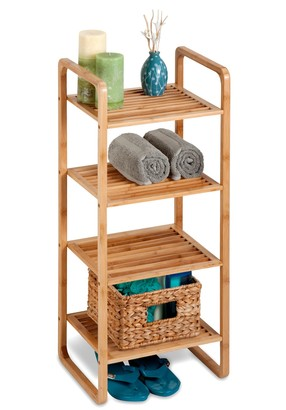 Honey-Can-Do Bamboo Accessory Shelf
