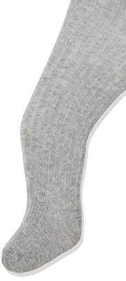 Melange Home Melton Unisex Babies' Basic Strumpfhose Ripp Tights, (Light Grey 135), 19 (Herstellergröße: 68-74) UK