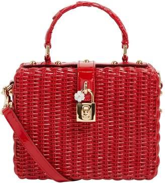 Dolce & Gabbana Woven Box Bag