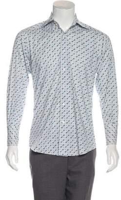 Gucci Woven Horsebit Shirt