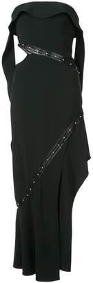 Jonathan Simkhai asymmetric strapless dress