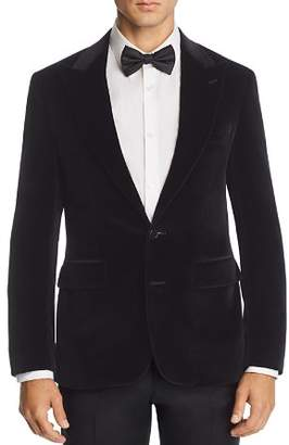 Canali Capri Peak-Lapel Slim Fit Velvet Sport Coat