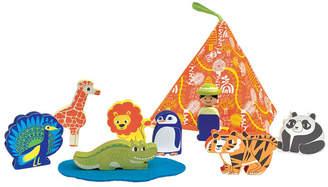 Manhattan Toy Zoo Mountain Figure Playset