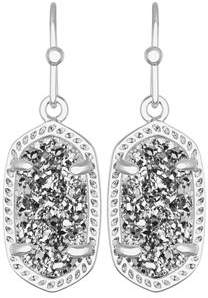 Kendra Scott Lee Earrings in 14k White Plated Brass
