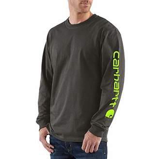Carhartt Men's Signature Logo Long Sleeve T-Shirt K231