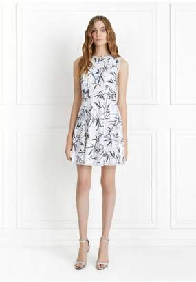 Rachel Zoe Waverly Bamboo Printed Sequin Mini Dress