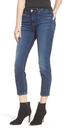 7 For All Mankind b(air) Kimmie Crop Straight Leg Jeans