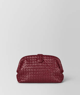 Bottega Veneta GIGOLO RED INTRECCIATO NAPPA THE LAUREN 1980 CLUTCH