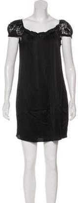 Galliano Silk Mini Dress