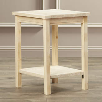 August Grove Toby Wood End Table