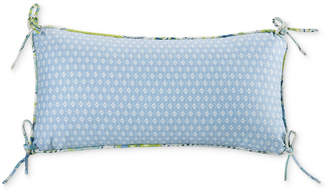 "Echo Sardinia 9"" x 18"" Oblong Diamond Print Decorative Pillow"