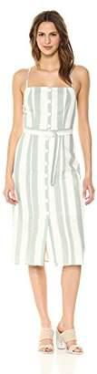 The Fifth Label Women's Poetic Stripe Belted Midi Dress
