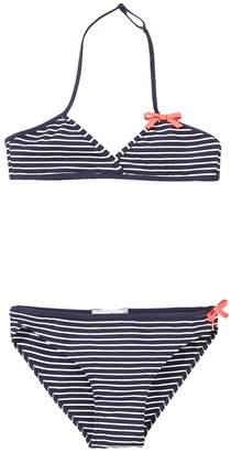 Jacadi Linomj Stripe Bikini Top & Bottoms Set