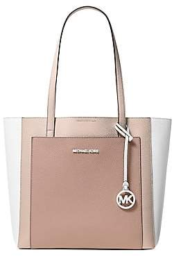 db8fbc7d9e MICHAEL Michael Kors Women s Large Gemma Colorblock Pocket Tote