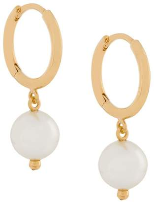 Simone Rocha small pearl earrings