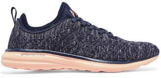 APL Athletic Propulsion Labs Techloom Phantom 3d Mesh Sneakers - Midnight blue