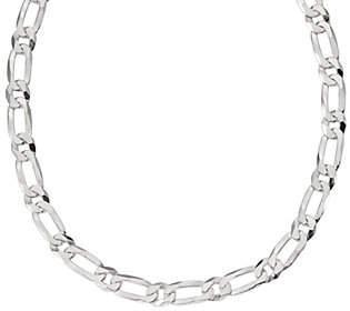 "Italian Silver 24"" Bold Oval Link Chain, 96.6g"