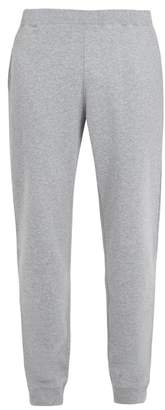 Sunspel Elasticated-waist cotton-jersey track pants