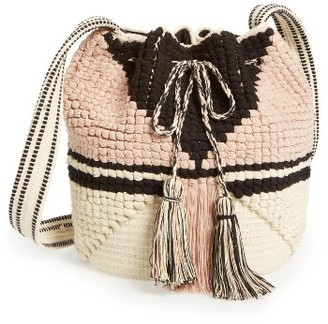 Sole Society Kenya Bucket Bag - Pink $69.95 thestylecure.com