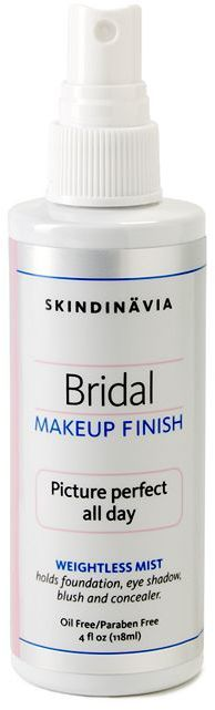 Skindinavia Bridal Makeup Finish 4 oz Everyday Free Shipping Auto Delivery Eligible 100% color guarantee Email A Friend Write a review