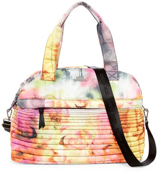 Steve Madden Wilty Quilted Nylon Duffle $78 thestylecure.com