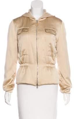 Brunello Cucinelli Wool Hooded Jacket