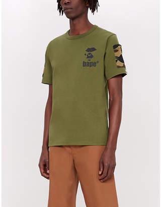 A Bathing Ape Camouflage pocket cotton T-shirt