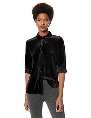 Lysse Women's Velvet Brinkley Button Down Shirt