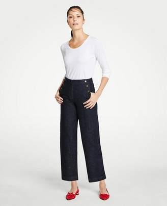 Ann Taylor Sailor Wide Leg Jeans