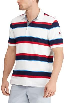 Chaps Men's Classic-Fit Striped Americana Polo