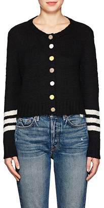 The Elder Statesman Women's Cashmere Crop Cardigan