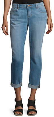 Eileen Fisher Stretch Boyfriend Jeans $178 thestylecure.com