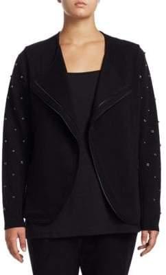 Nic+Zoe Plus Plus Modern Stud Jacket
