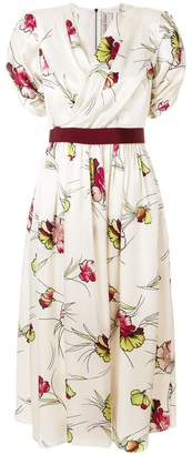 Antonio Marras floral midi dress