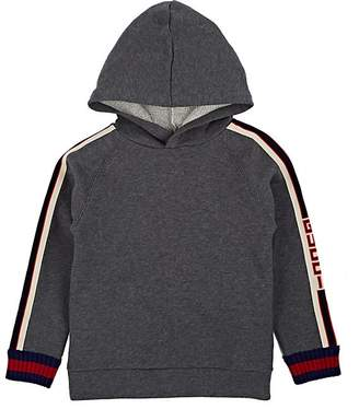 Gucci Kids' Logo Cotton French Terry Hoodie