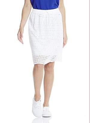 Bench Women's Cotton Crochet Skirt,6