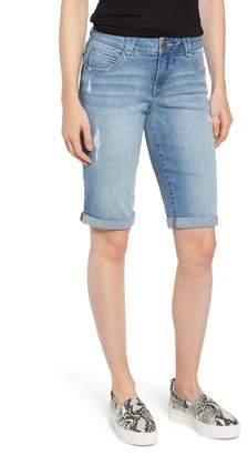 Wit & Wisdom Ab-Solution Roll Cuffed Jean Shorts