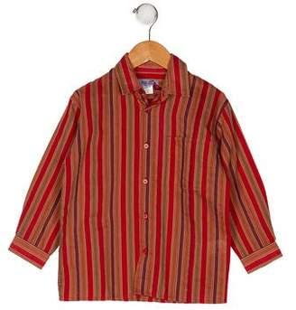 Kenzo Boys' Stripe Button-Up Shirt w/ Tags