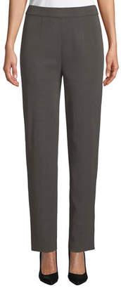 Misook Straight-Leg Pull-On Pants