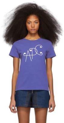A.P.C. Blue Sienna T-Shirt