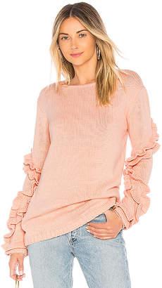 Tularosa Flounce Sweater