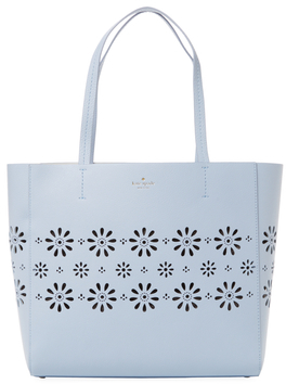 Kate Spade Faye Drive Hallie Perforated Leather Tote