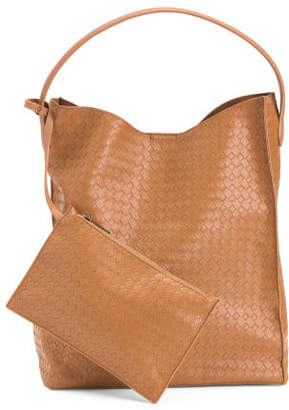 Patrice Large Woven Hobo