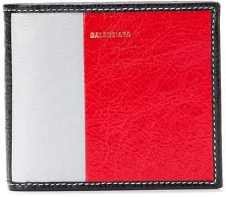 Balenciaga Bazar square coin wallet