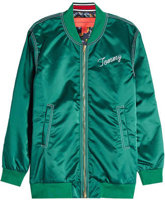 Tommy Hilfiger Oversized Bomber Jacket
