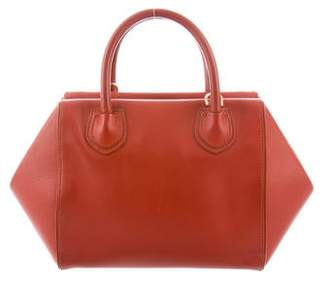 Mark Cross Leather Structured Satchel