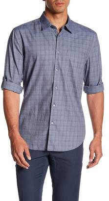 John Varvatos Collection Plaid Slim Fit Shirt