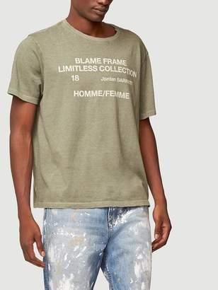 Frame Denim Blame Short Sleeve Graphic Tee