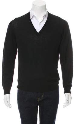 Tomas Maier Wool V-Neck Sweater