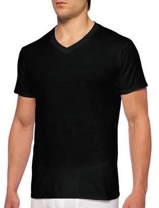 60cdbc261c9 Gildan Men s Short Sleeve V-Neck Assorted Color T-Shirt